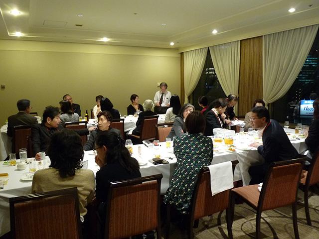 麹町法人会 女性部会 & 神田法人会 女性部会との合同忘年会(令和元年12月11日)